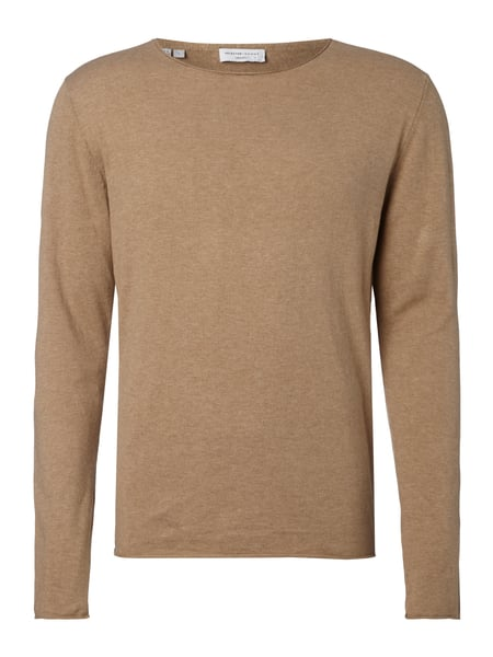 Selected Homme Pullover aus Baumwoll-Seide-Mix Apricot