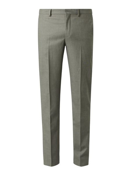 Selected Homme Slim Fit Anzughose mit Stretch-Anteil Modell 'Myloosby' Grün - 1