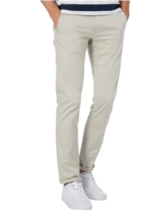 Selected Homme Slim Fit Chino inklusive Gürtel Kitt - 1