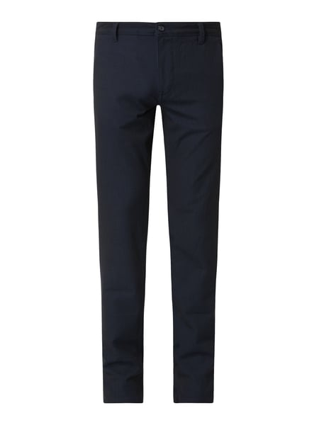 Selected Homme Slim Fit Chino mit Stretch-Anteil Modell 'Storm' Blau - 1