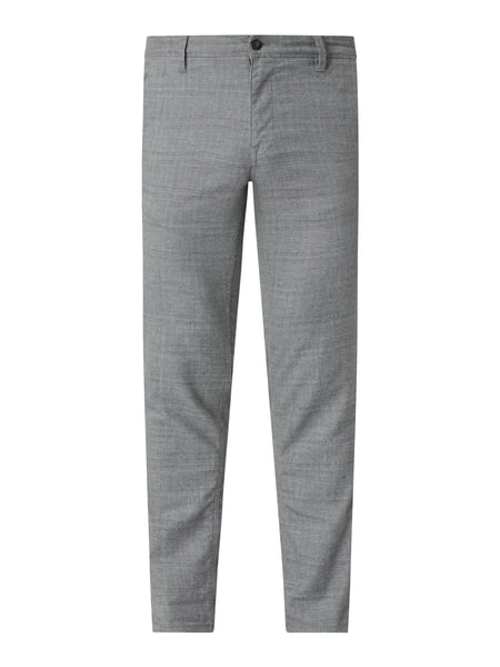 Selected Homme Slim Fit Chino mit Stretch-Anteil Modell 'Storm' Grau - 1
