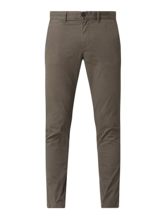 Selected Homme Slim Fit Chino mit Stretch-Anteil Beige - 1