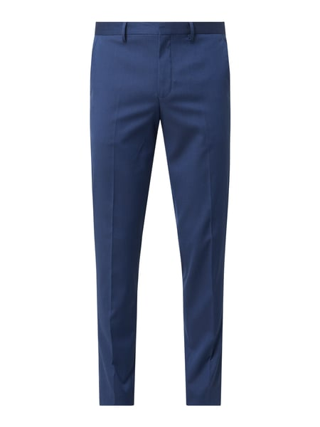Selected Homme Slim fit pantalon met stretch Blauw - 1