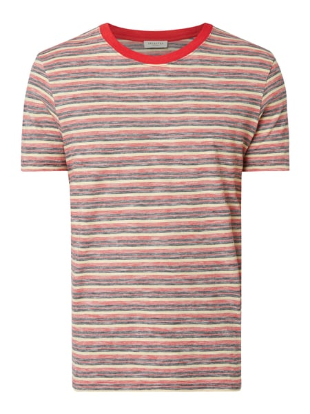 Selected Homme T-Shirt aus Organic Cotton Rot - 1