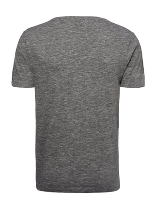Selected Homme T-Shirt in Melangeoptik Anthrazit - 1