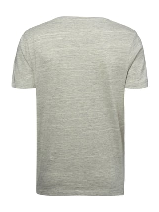 Selected Homme T-Shirt in Melangeoptik Silber - 1