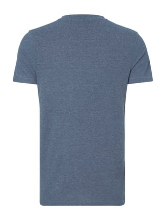 Selected Homme T-Shirt mit Brusttasche Dunkelblau - 1