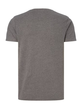 Selected Homme T-Shirt mit Print Mittelgrau - 1