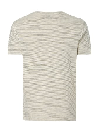 Selected Homme T-Shirt mit Streifenmuster Offwhite - 1