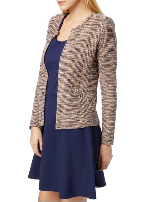 Set Blazer mit Streifenmuster Orange - 1