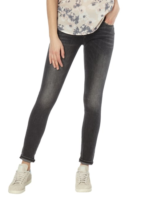 Silver Jeans Coloured Skinny Fit 5-Pocket-Jeans Mittelgrau - 1