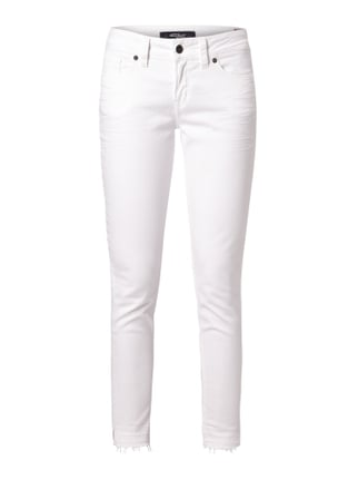 Coloured Skinny Fit 5-Pocket-Jeans Weiß - 1
