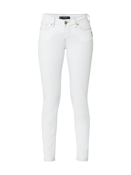 Silver Jeans Coloured Skinny Fit Jeans Weiß - 1