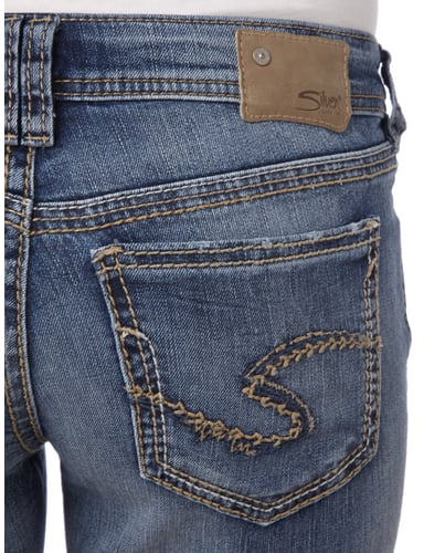Double Stone Washed Flared Cut Jeans Silver Jeans online kaufen - 1