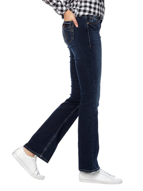 Silver Jeans Stone Washed Boot Cut 5-Pocket-Jeans Jeans - 1