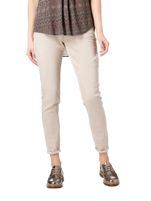Silver Jeans Sweatjeans im 5-Pocket-Design Sand - 1