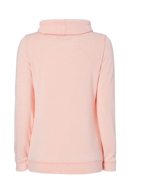 Soccx Sweatshirt im Washed Out Look Rosa - 1