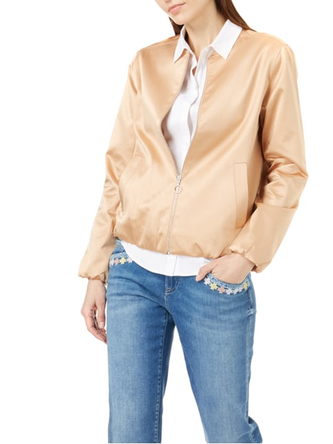 Someday Bomber aus Satin Apricot - 1