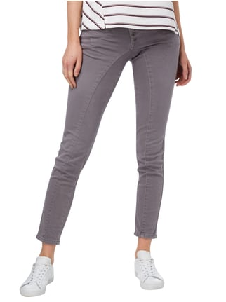 Street One Coloured Casual Fit Jeans mit Nietenbesatz Graphit - 1