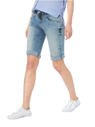 Street One Double Stone Washed Jeansbermudas Jeans - 1