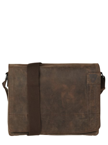 Strellson Messenger Bag aus Leder Modell 'Richmond' Braun - 1