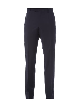 Strellson Regular Fit Business-Hose aus Schurwolle Blau - 1