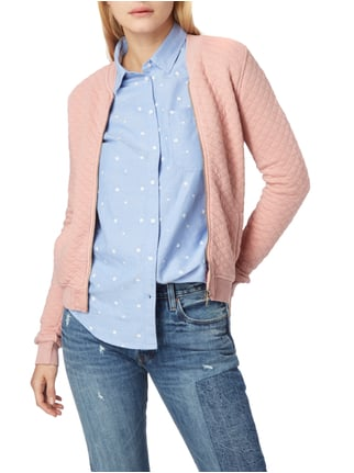 Superdry Bomber mit Steppmuster Rosa - 1