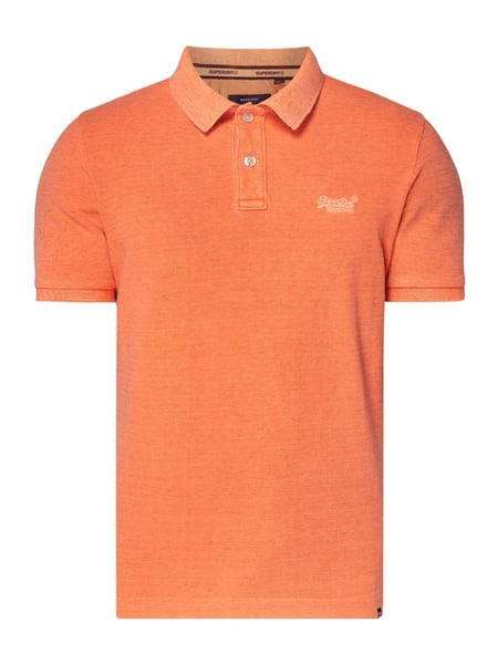 Superdry Poloshirt im Vintage Look Orange - 1