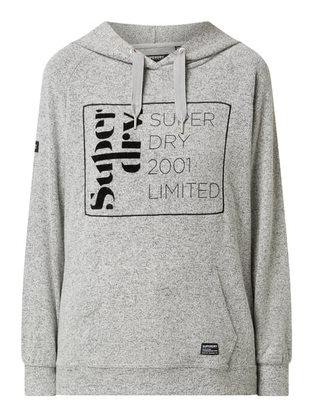 purchase cheap 09519 bf31e Superdry – Pullover mit Kapuze – Hellgrau meliert