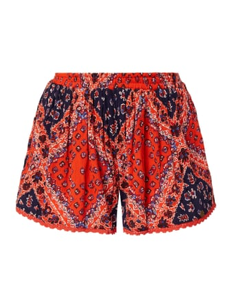 Superdry Shorts mit ornamentalem Muster Rot - 1