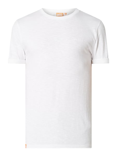 Superdry T-Shirt aus Organic Cotton Weiß - 1