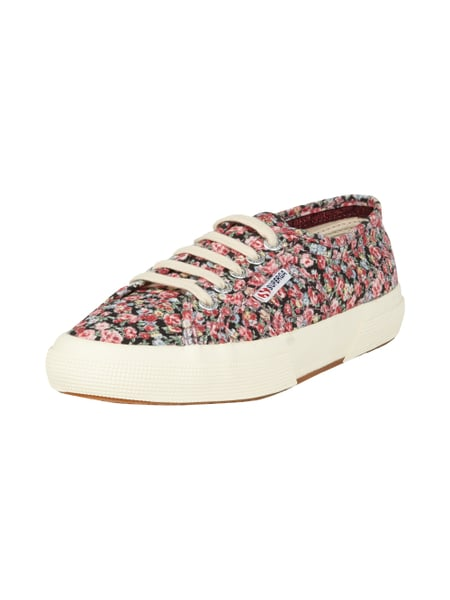 Sneakers mit Blumenmuster Rot - 1