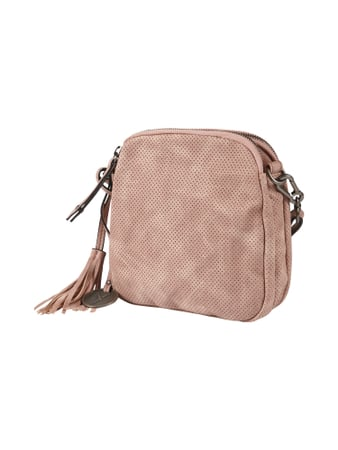 SURI FREY Crossbody Bag in Lederoptik - perforiert Rosa - 1