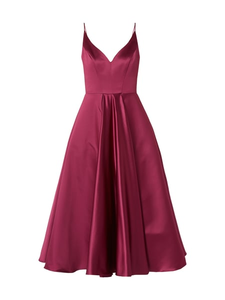 Swing cocktailkleid apricot
