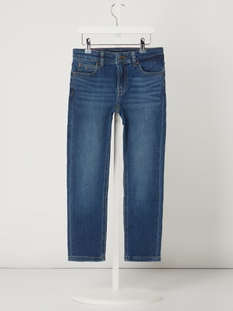 T. Hilfiger Teens Straight Fit Jeans mit Stretch-Anteil Blau - 1