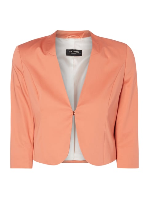 Bolero mit Stretch-Anteil Orange - 1