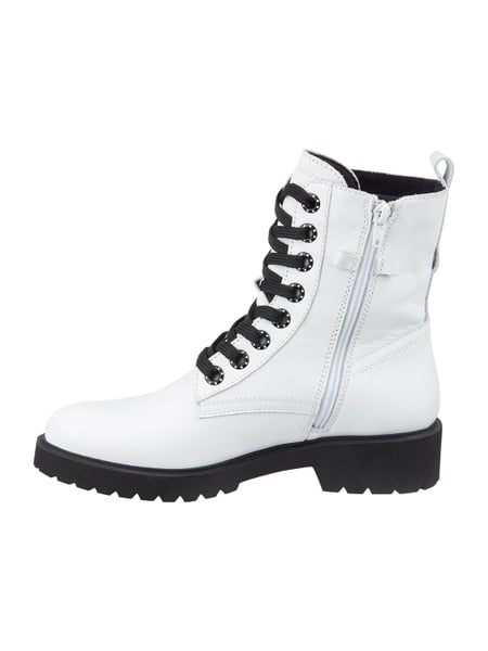 huge selection of d4271 1aa0a Tamaris – Boots mit Kontrastsohle – Weiß