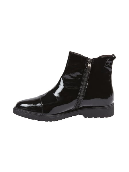 sports shoes afc7e 7cc69 TAMARIS Chelsea Boots in Lack-Optik mit spitzer Kappe in ...