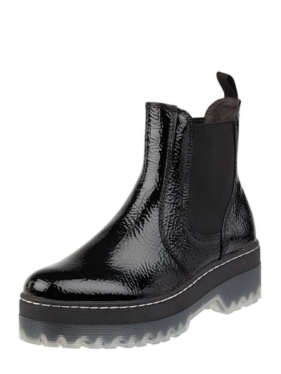 Optik In Boots Lackleder Lackleder In Chelsea Chelsea Boots Optik Chelsea Boots iuOkPXZ