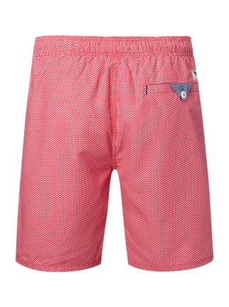 Ted Baker Badeshorts mit Allover-Muster Pink - 1