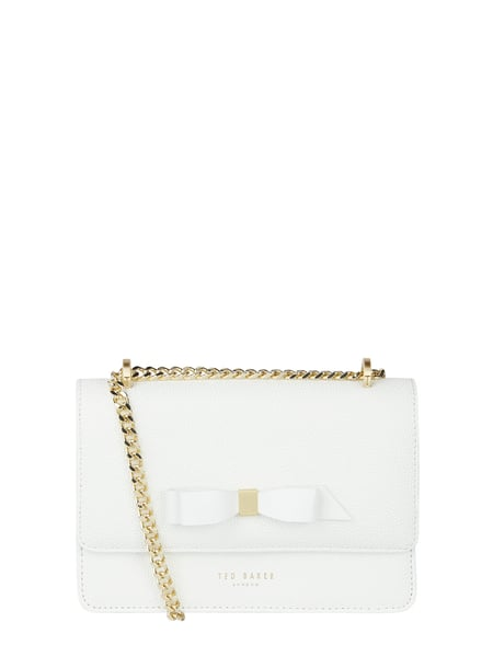 Ted Baker Crossbody Bag aus Leder Weiß - 1