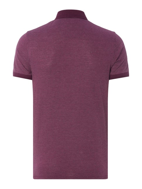 Ted Baker Poloshirt mit Allover-Muster Purple - 1