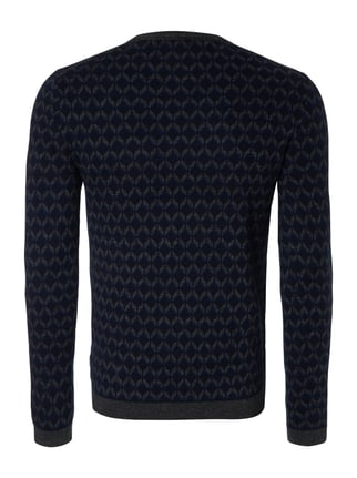Ted Baker Pullover mit Allover-Muster Blau - 1