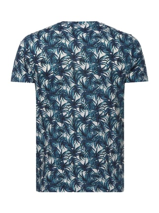 Ted Baker T-Shirt mit Allover-Muster Blau - 1