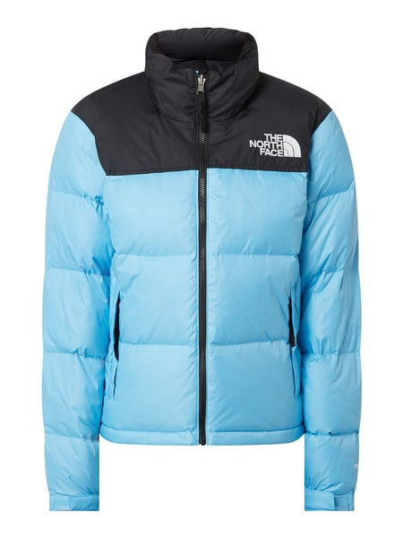 The North Face Daunenjacke mit Kapuze - wasserabweisend Blau - 1