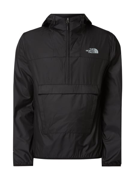 5b66a2733e THE-NORTH-FACE Jacke in Schlupfform mit Kapuze in Grau / Schwarz ...
