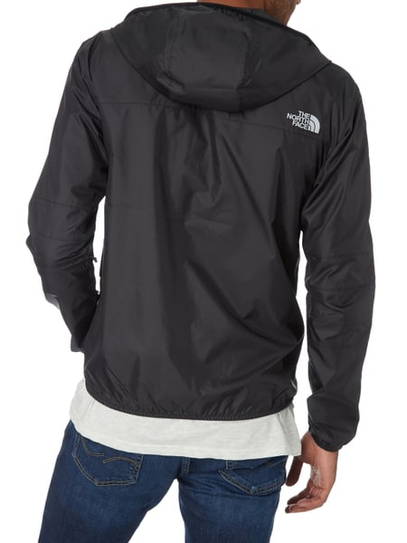 detailed look 42934 f3bf4 The North Face – Jacke mit Kapuze - wasserabweisend – Schwarz