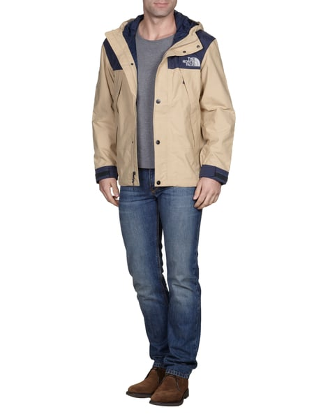 45e65278a25116 The North Face Jacke mit Logo-Stickerei in Weiß - 1. Rückansicht von The  North Face - Search-produkt002-skijacke ...