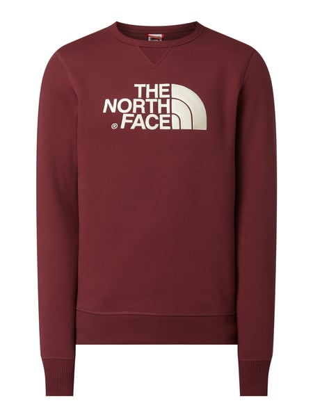 The North Face Sweatshirt mit Logo-Stickereien Rot - 1
