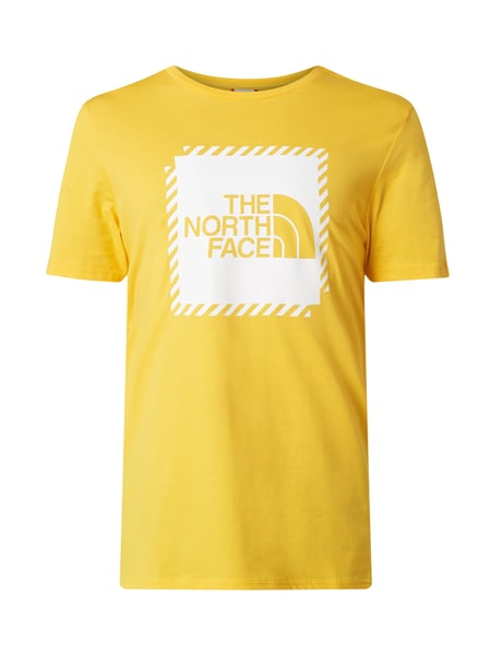 The North Face T-Shirt mit Logo-Print Gelb - 1